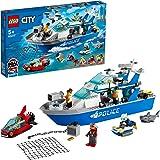 LEGO®CityPolicePatrolBoat60277BuildingKit