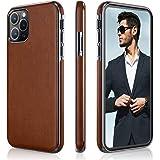 LOHASIC iPhone 11 Pro Max Case, Slim Thin Business PU Leather Hybrid Bumper Soft Anti-Slip Scratch Resistant Full Body Protec