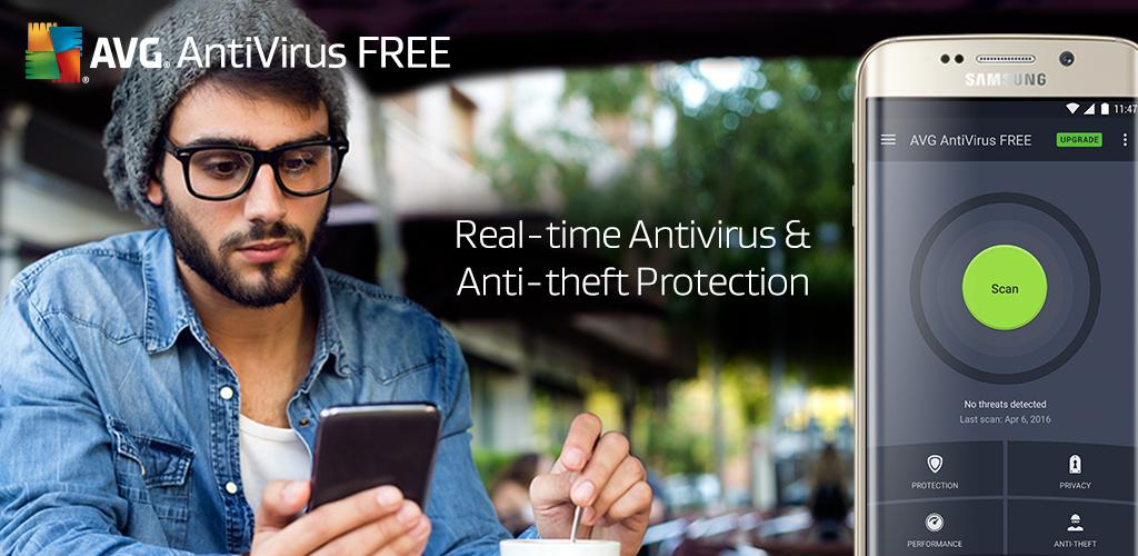 AVG AntiVirus FREE: Android 携帯とタブレット用の無料のウイルス対策