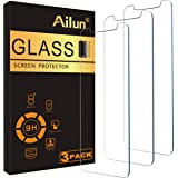 AILUN Screen Protector Compatible Apple iPhone Xs Max (6.5 inch 2018 Release),[3 Pack],0.33mm Tempered Glass Anti-Scratch,Adv