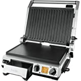Breville BGR840 The Smart Grill Pro, Brushed Stainless Steel