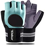 Atercel Weight Lifting Gloves 2021 Upraded Full Palm Protection, Best Workout Gloves for Gym, Cycling, Exercise, Breathable,