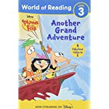 World of Reading Phineas and Ferb Another Grand Adventure