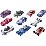 Hot Wheels 10-Car Pack of 1:64 Scale Vehicles​,  Collectors and Kids Ages 3 Years Old and Up