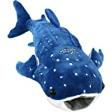 Houwsbaby Stuffed Shark Pillow for Baby Embroidery Plush Toy Gift, 20inch (Shark)