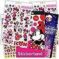 Disney Minnie Mouse Stickers with Specialty Princess Door Hanger - 295 Minnie Reward Stickers