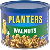 Planters Unsalted Walnuts (7.25 oz Canisters, Pack of 3)