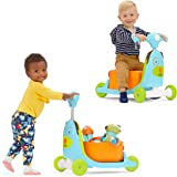Skip Hop Kids Toy 3-in-1 Baby Activity Push Walker & Ride On Scooter Toy, Dog