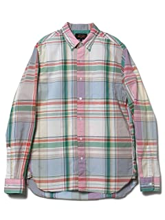 Big Check Buttondown Shirt 11-11-4003-139: Light