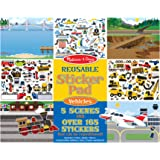 Melissa & Doug 4199 Reusable Sticker Pad: Vehicles - 165+ Reusable Stickers