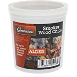 Camerons Smoking Chips- Kiln Dried, 100 Percent Natural Extra Fine Wood Smoker Sawdust Shavings (Alder, 1 Pint)
