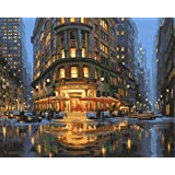 Paint by Numbers-DIY Digital Canvas Oil Painting Adults Kids Paint by Number Kits Home Decorations-Delmonicos 16 * 20 inch