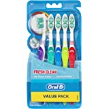 Oral-B Fresh Clean Toothbrush Soft, 5 Pack