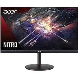"Acer Nitro XV272U Pbmiiprzx 27"" WQHD (2560 x 1440) IPS G-SYNC Compatible Monitor, 144Hz, 1ms VRB, VESA Certified DisplayHDR40"