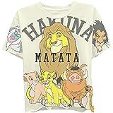 Disney Ladies Lion King Fashion Shirt - Ladies Classic Hakuna Matata Clothing Lion King Oversize Print Tee