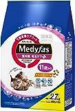 メディファス 室内猫 毛玉ケアプラス 11歳から チキン&フィッシュ味 2.7kg(450gx6)