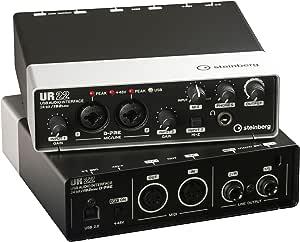 Steinberg  2x2 USB 2.0 オーディオインターフェース  UR22