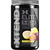 XTEND Elite BCAA Powder Island Punch Fusion | Sugar Free Post Workout Muscle Recovery Drink with Amino Acids | 7g BCAAs for M