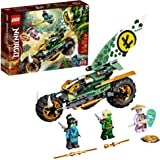 LEGO NINJAGO Lloyd's Jungle Chopper Bike 71745 Building Kit; Ninja Bike Toy Featuring NINJAGO Lloyd and NYA Minifigures, New