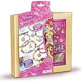 Make It Real - Disney Princess Crystal Dreams Jewelry - DIY Bead & Charm Bracelet Making Kit - Includes Jewelry Making Suppli
