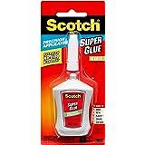 Scotch Super Glue Gel in Precision Applicator, 0.14ounce (AD125) 10 IN