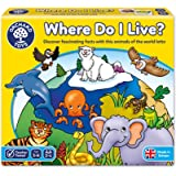Orchard Toys - Where do I Live Lotto