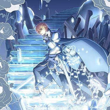 ソードアートオンライン iPad壁紙 or ランドスケープ用スマホ壁紙(1:1)-1 - ユージオと青薔薇の剣