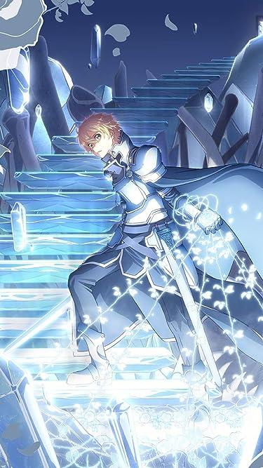 ソードアートオンライン  iPhone/Androidスマホ壁紙(540×960)-1 - ユージオと青薔薇の剣