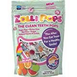 Zollipops The Clean Teeth Pops, Anti Cavity Lollipops, Delicious Flavors, Tropical, 5.2 Ounce