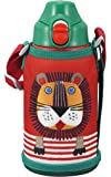 タイガー 水筒 600ml 直飲み コップ 付 2WAY ステンレス ボトル ポーチ付き サハラ コロボックル ライオン MBR-A06G-R Tiger