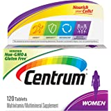 Centrum Multivitamin for Women, Multivitamin/Multimineral Supplement with Iron, Vitamins D3, B and Antioxidants - 120 Count