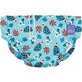 Bambino Mio, Reusable Swim Diaper, Small (0-6 Months), Turtle Bay