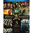 Pirates Of The Caribbean 1-5 Boxset