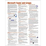 Microsoft Teams and Groups for Office 365 Quick Reference Guide (Cheat Sheet of Instructions, Tips & Shortcuts - Laminated Ca