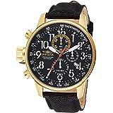 [インビクタ] 腕時計 ストラップ 1515 メンズ 正規輸入品 ブラック [並行輸入品]