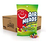 AirHeads Xtremes Sourfuls Peg Bag, Rainbow Berry, Non Melting, 6 ounces (Pack of 12)