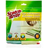 Scotch-Brite T109C High Performance Kitchen Cloth, Random, Pack of 2