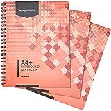 Amazonベーシック リングノート 200ページ A4+ 80g/m2 3冊組
