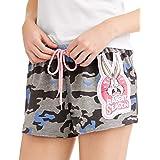 LOONEY TUNES Bugs Bunny Rabbit Season Women's Pajama Boxer Shorts