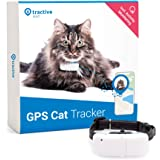 Tractive GPS Tracker for Cats, Unlimited Range, Activity Monitor, Waterproof (Newest Model)
