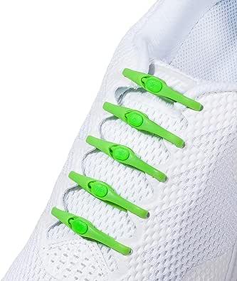 HICKIES 2.0 - ヒッキーズ2.0 フリーサイズ 結ばない伸縮素材の靴ひも (14 ヒッキーズ靴ひも、あらゆる靴のサイズに対応)