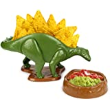 Barbuzzo Nachosaurus Snack & Dip Bowl Set - Dinosaur Chip & Salsa Set
