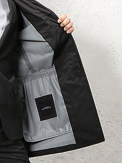 Gelanots Hooded Balmacaan Coat 3125-699-0407: Black