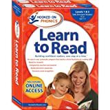 Hooked on Phonics Learn to Read - Levels 1 2 Complete: Early Emergent Readers (Pre-K Ages 3-4)