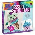 Craft-tastic – String Art Kit – Craft Kit Makes 2 Large String Art Canvases Dessert String Art Multicolor