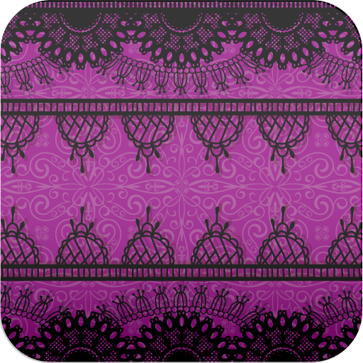 Amazoncojp 紫レーススマホ待ち受け壁紙ver2 Android