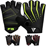 RDX Gym Weight Lifting Gloves Workout Fitness Bodybuilding Breathable Powerlifting Wrist Support Training Exercise