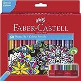 Faber-Castell Vibrant Classic Colour Pencils Box of 60, (16-111260)