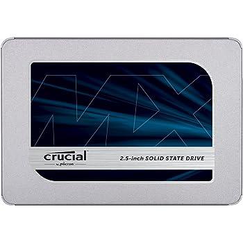 Crucial SSD 250GB 7mm / 2.5インチ MX500シリーズ SATA3.0 9.5mmアダプター付 CT250MX500SSD1/JP