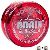 Yomega The Original Brain - Professional Yoyo for Kids and Beginners, Responsive Auto Return Yo Yo Best for String Tricks + E